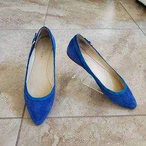 Nine west suede women's flats. Size 7.5M